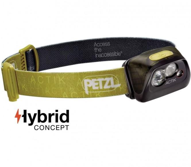 Petzl - Actik Stirnlampe (grün)