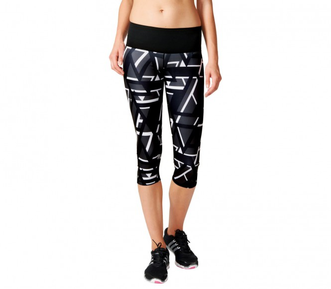 Adidas Workout High Rise 3-4 Tight Print Dames Trainingsbroek XS