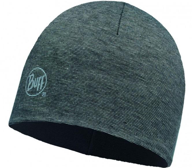 Buff - Micro Polar Mütze (grau/schwarz)
