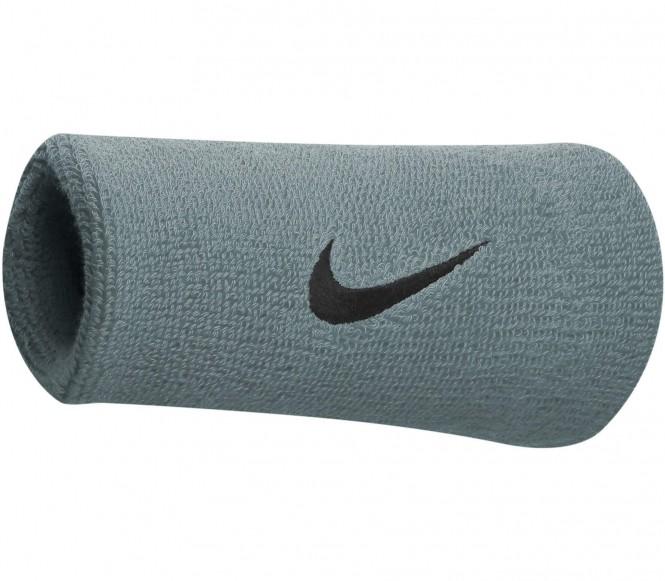 Nike - Premier Doublewide Wristband (blau/schwarz)