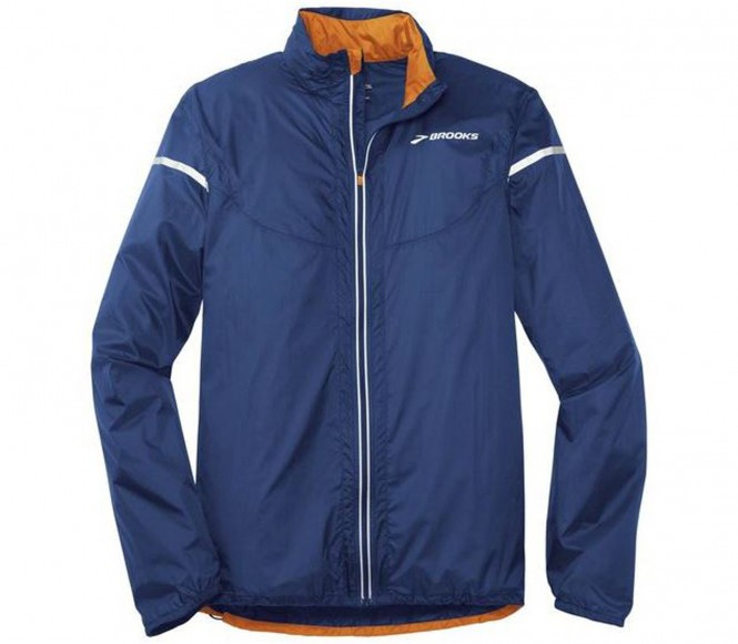 Brooks - Lsd Lite IV Herren Laufjacke (blau/orange) - S