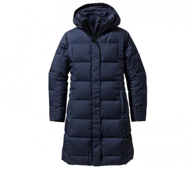 patagonia down with it damen parka dunkelblau outdoor outdoorbekleidung damen. Black Bedroom Furniture Sets. Home Design Ideas