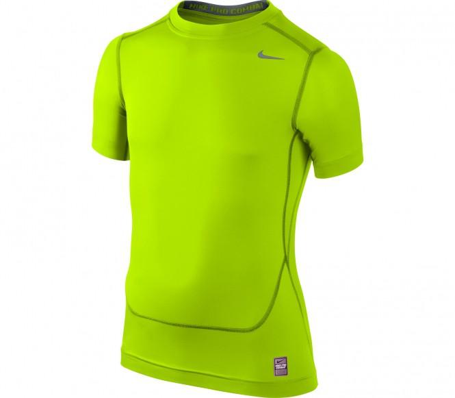 Nike Core Compression SS barn träningsshirt (grön) 158