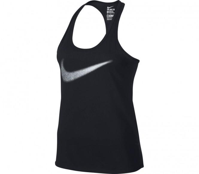 Dri-Fit Cotton Swoosh Damen Trainingstank (schwarz) - S