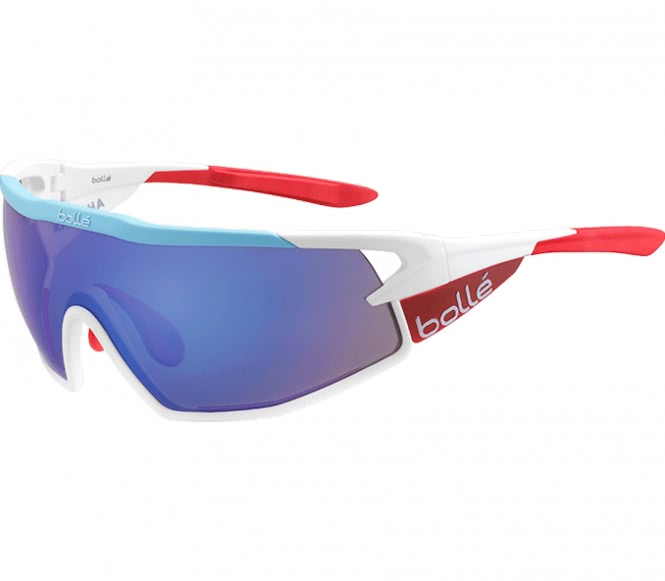 Bollé - B-Rock Bike Brille (blau/weiß)