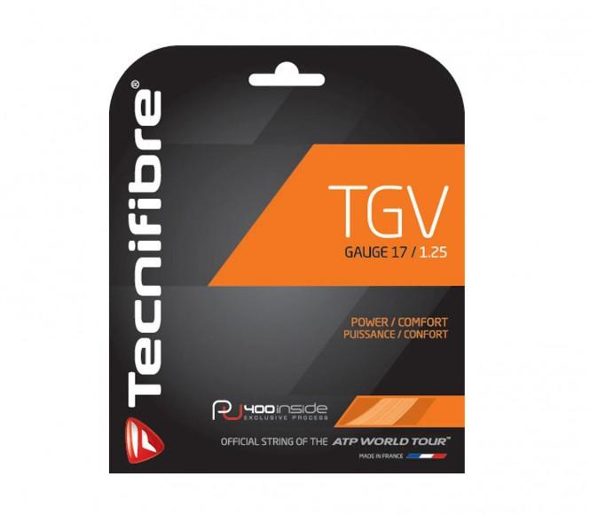 cordages de tennis - TECNIFIBRE TGV 12M 1,25MM