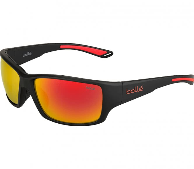 Bollé - Kayman Bike Brille (schwarz/rot)