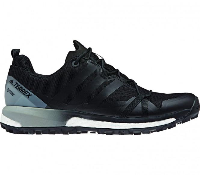 Terrex Agravic GTX Damen Mountain Running Schuh (schwarz/grau) - EU 40 - UK 6,5