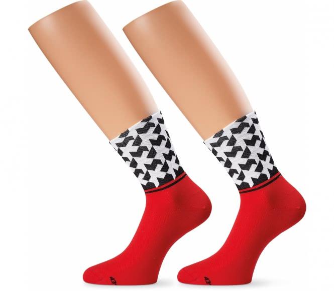 Assos - Monogramsock Evo8 Unisex Socken (rot) - L