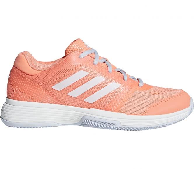 Adidas - Barricade club clay Damen Tennisschuh (orange) - EU 39 1/3 - UK 6
