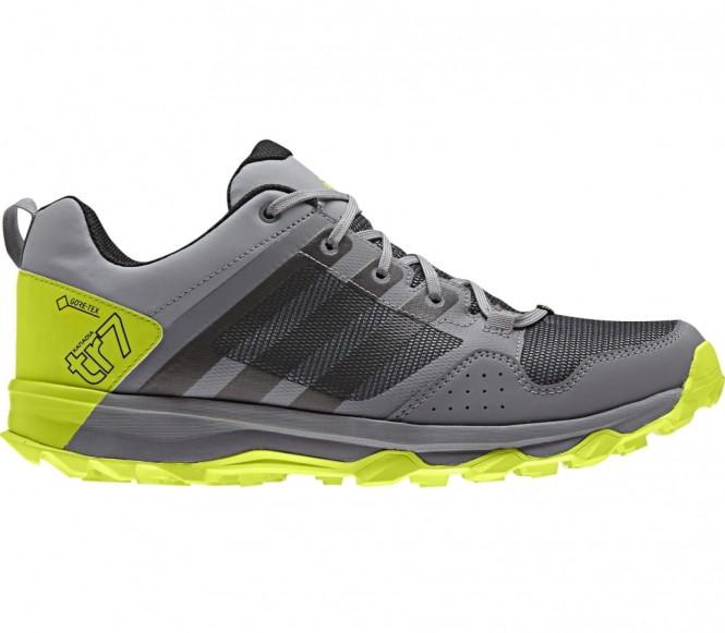 Adidas - Kanadia 7 TR GTX Hommes chaussure de course (gris/jaune) - EU 44 - UK 9,5