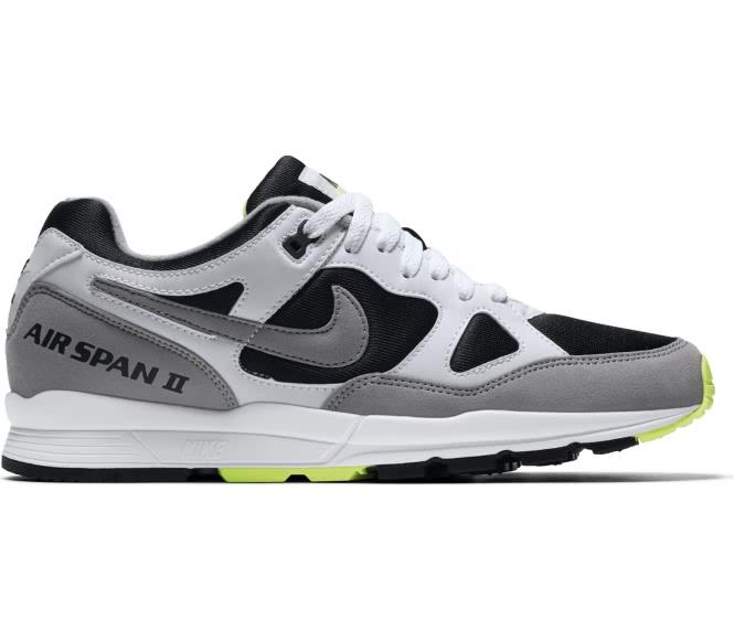 Nike - Air Span II Herren Sneaker (schwarz/grau...