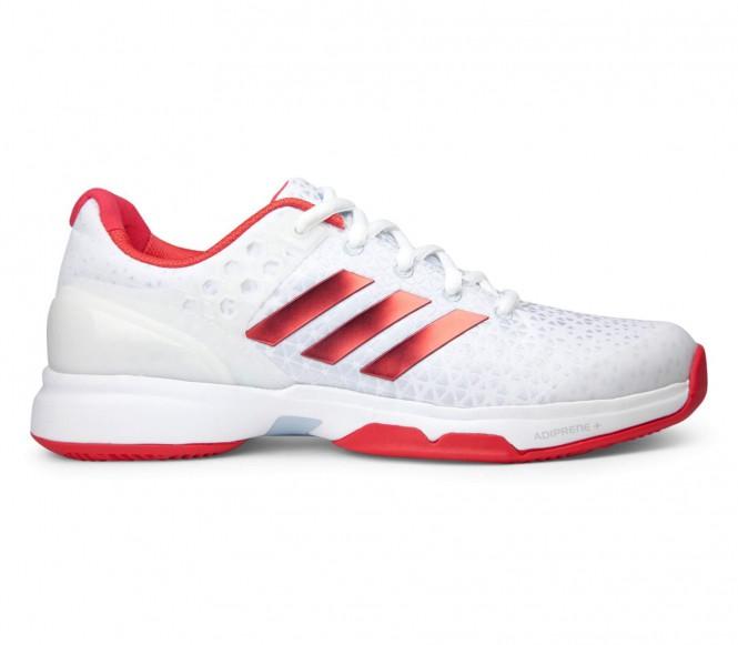 Adidas Adizero Ubersonic 2 Damen Tennisschuh (weiß-rot) EU 40 2-3 UK 7