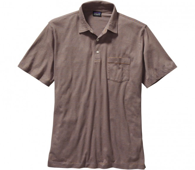 <strong>Patagonia</strong> squeaky clean hommes chemise polo brun s