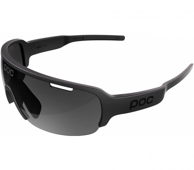 Radsportbrille Force ULTRA Black, schwarzes Laser-Glas