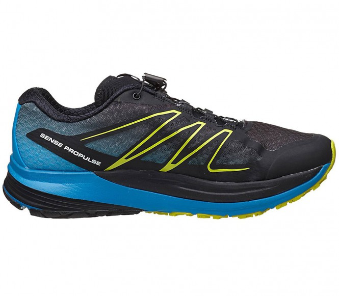 Salomon Sense Propulse men's running shoes (black/blue) EU 43 1/3 UK 9