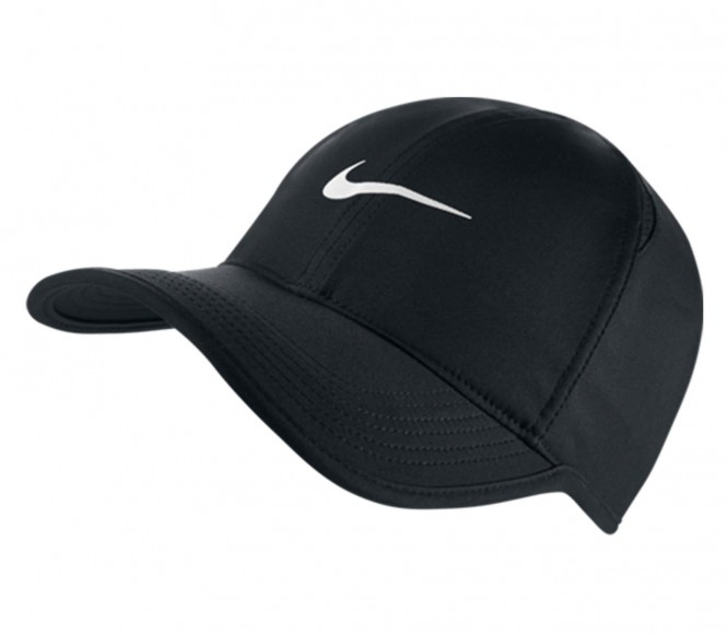 Nike - Featherlight Unisex Tenniscap (schwarz)