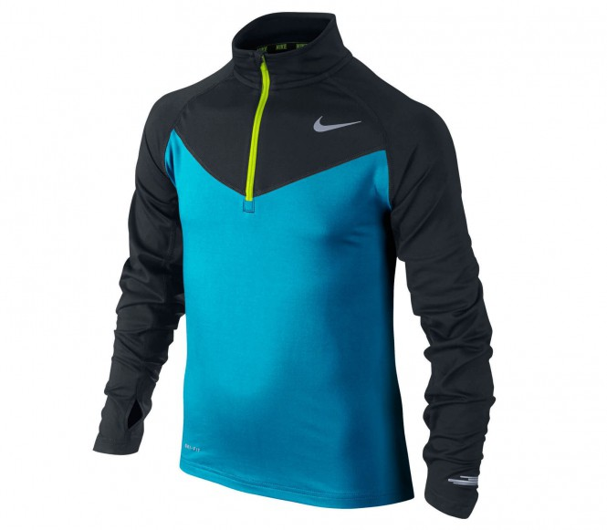 Nike - Element 1/2 Zip Longsleeve Junior Trainingstop - M