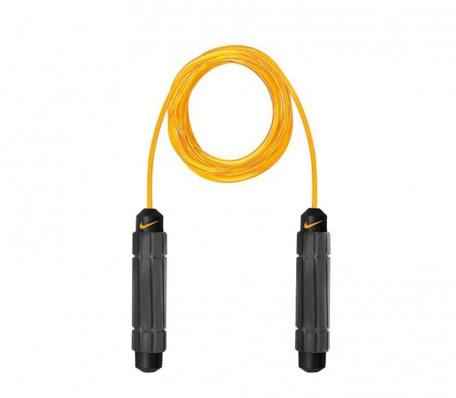 Nike Speed Rope 2.0 Fitness Hopprep (svart/gul)