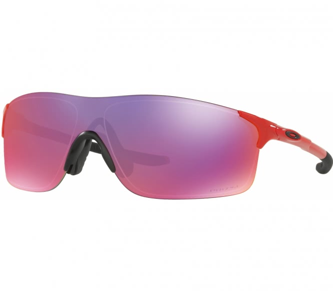 Oakley - EVZero Bike Brille (rot/orange)
