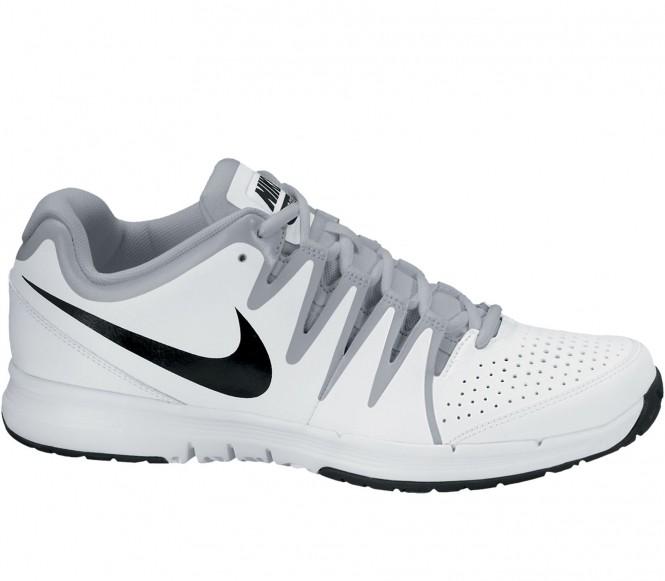 Nike - Vapor Court Scarpe da tennis uomo (bianco/nero) - EU 45,5 - US 11,5