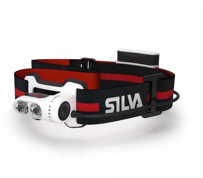 Silva - Trail Runner Stirnlampe (schwarz/rot)