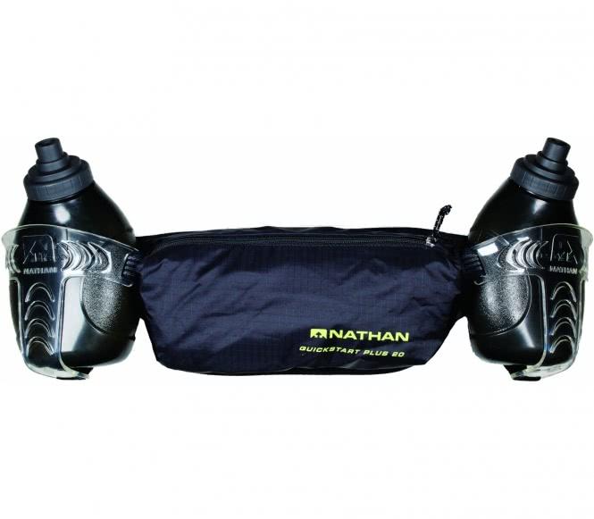 Nathan - QuickStart Plus 20 løbebåndet (sort)