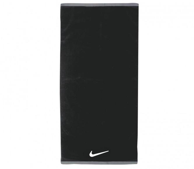 Nike Fundamental Towel Handduk- Stor(svart/vit)
