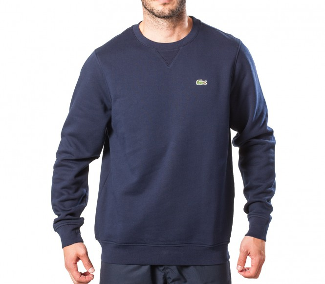 lacoste basic sports classic herren pullover blau. Black Bedroom Furniture Sets. Home Design Ideas