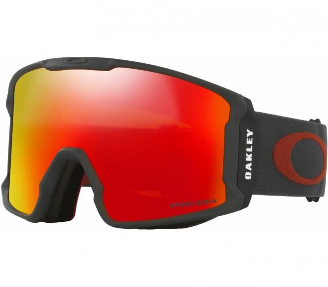 Oakley - Line Miner Skibrille (grau/orange)