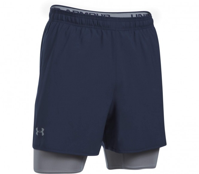 Under Armour - Qualifier 2-in-1 Heren training Short