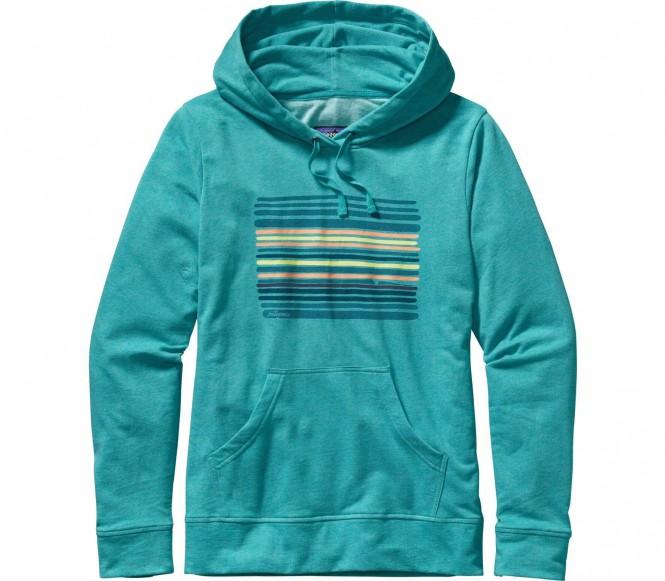 <strong>Patagonia</strong> horizon line up lightweight femmes sweat à capuche tüturquoise l bleu