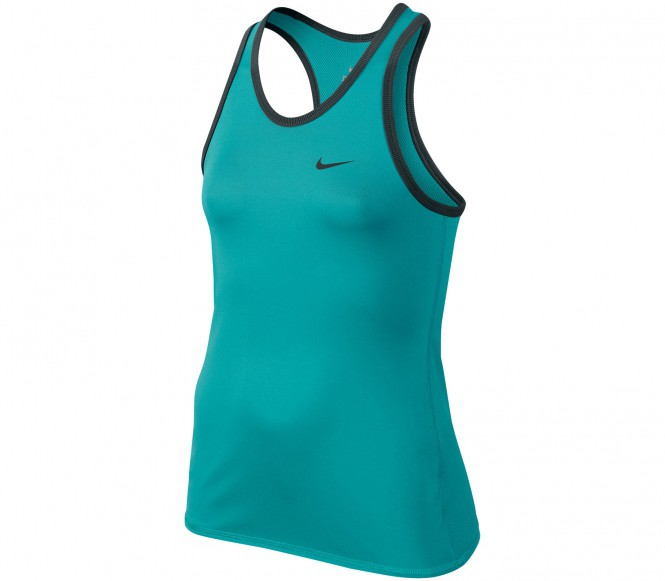 Nike Advantage Court Junior Tennistopp (turkos) XL