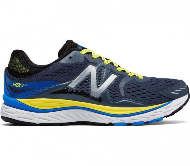 7659de4f1cb New Balance - NBX 8806 chaussures de running pour hommes (bleu foncé jaune)