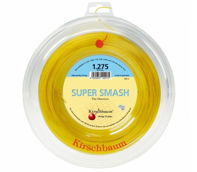 cordages de tennis - KIRSCHBAUM SUPER SMASH 200M 1,30MM
