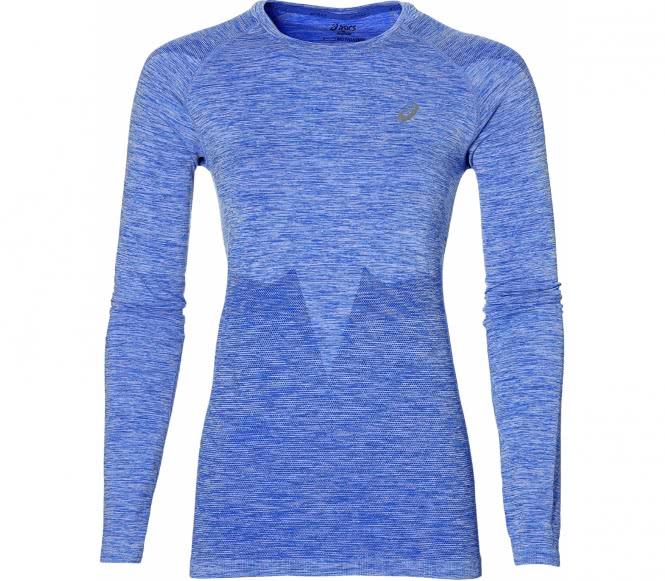 Seamless Damen Laufshirt (blau) - L