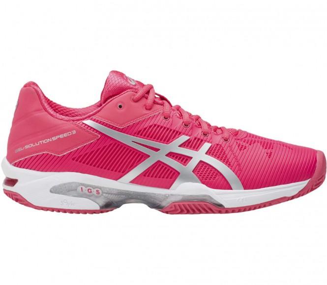 ASICS - Gel-Solution Speed 3 Clay chaussures de tennis pour femmes (rouge/blanc) - EU 43,5 - US 11