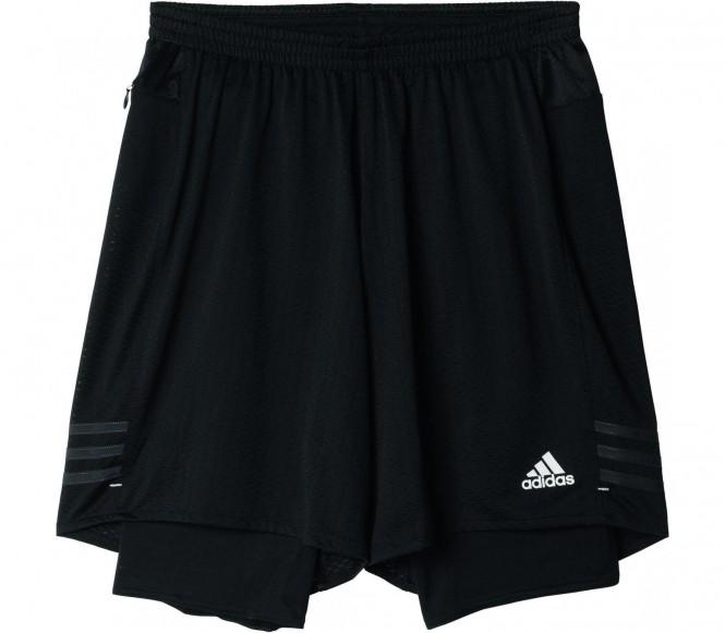 adidas Men's Response Dual Running Shorts Black S