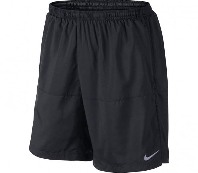 Nike Performance 7 DISTANCE Korte broeken black/reflective silver