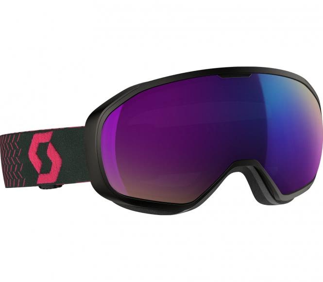 Goggle Fix Skibrille (schwarz/pink)