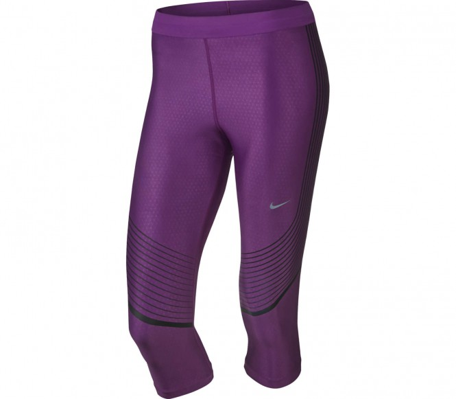 Nike - Power Speed driekwartsbroek Dames running shorts