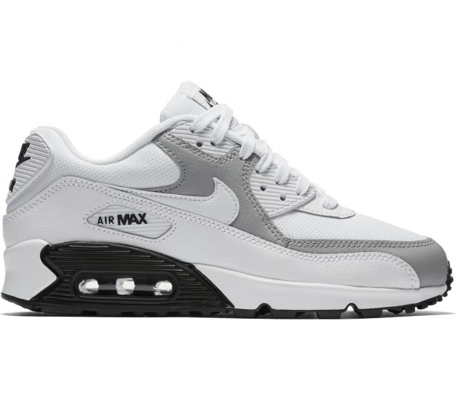 Nike - AIR MAX 90 Damen Sneaker (weiß/grau) - E...