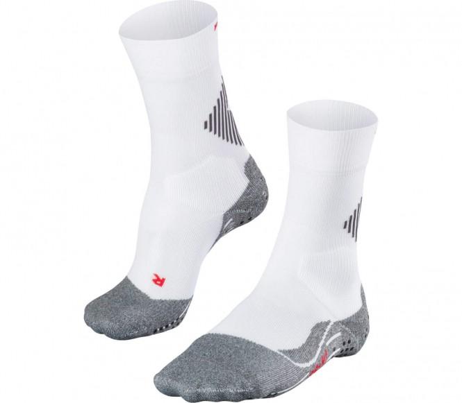 4Grip Herren Tennissocken (weiß/grau) - 42 - 43
