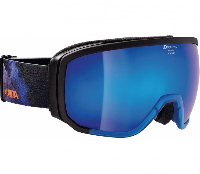 Alpina - Scarabeo Unisex Skibrille (blau/schwarz)