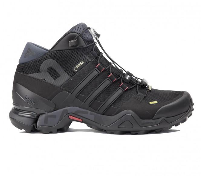 Adidas - Terrex Fast R Mid GTX dames trekkingschoen - EU 39 1/3- UK 6 donker grijs