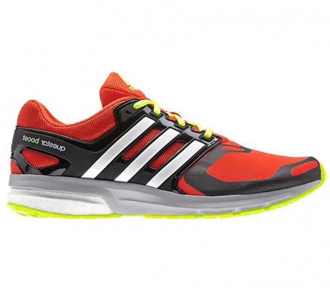 Adidas Questar Boost Techfit men's running shoe (orange/svart) EU 44 2/3 UK 10