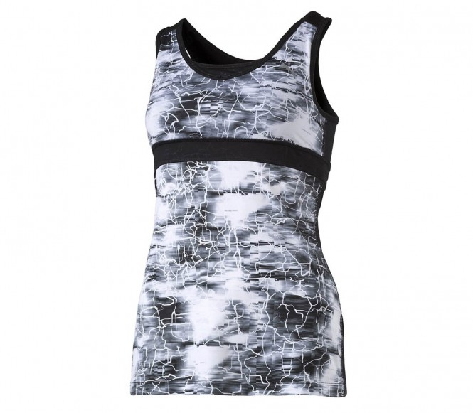 WT Clash Tank Damen Trainingsshirt (schwarz/weiß) - S