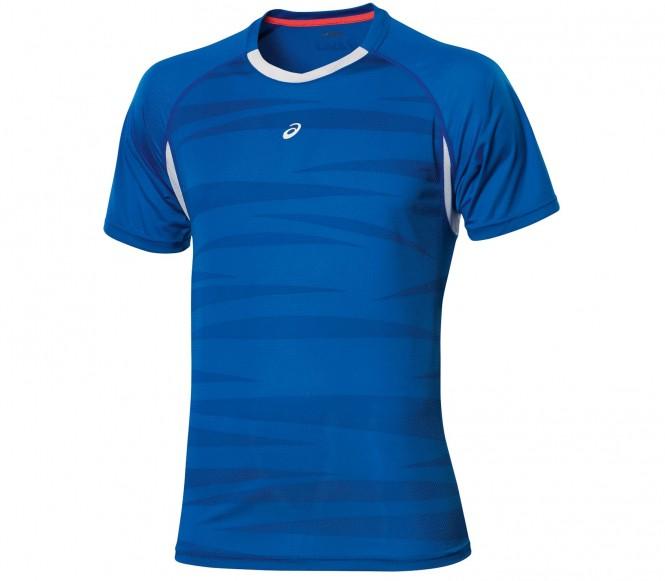 Asics - Ms Graphic T-shirt da tennis uomo (blu) - S