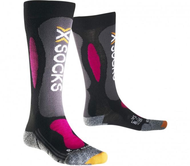X-Bionic - Ski Carving Silver Damen Skisocken (...