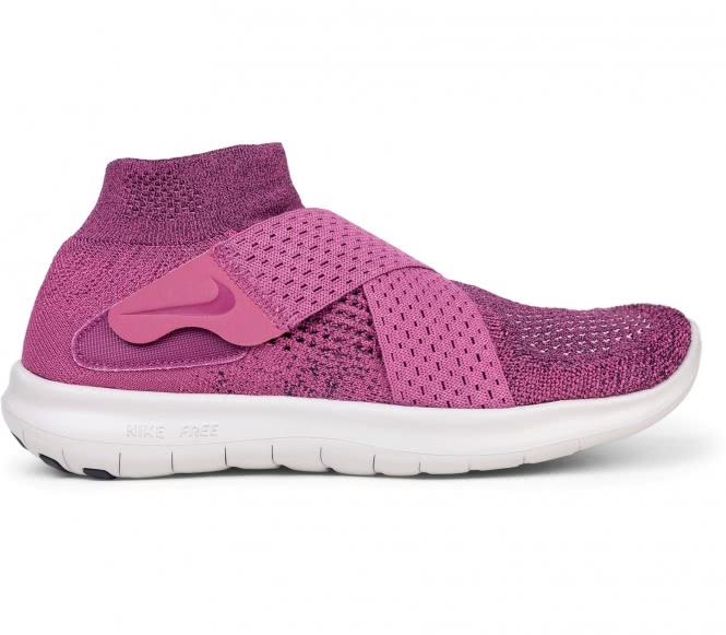 Nike free rn motion flyknit 2017 femmes chaussure de course rouge eu 39 us 8